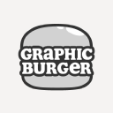 Graphic Burger logo icon