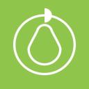 Graphic Pear logo icon