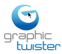 Graphic Twister logo icon