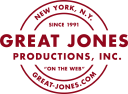 Great Jones Productions logo