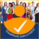 Great Work! Employment Services Co logo