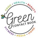 Green Contact Book logo icon