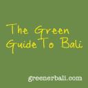 Greener Bali logo icon