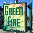 Green Fire logo icon