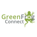 Green Frog Connect logo icon