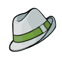 Green Hat logo icon