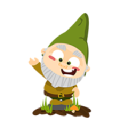 Green Home Gnome logo icon