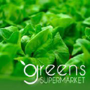 Greens Supermarket logo icon