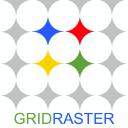 Grid Raster logo icon