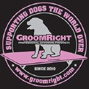 GroomRight Professional Grooming Products logo