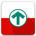 Grote Routepaden logo icon