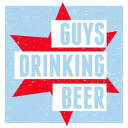 Guys Drinking Beer logo icon