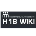 H1 B Wiki logo icon