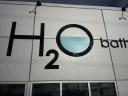 H2O Bath logo