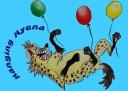 Hanging Hyena logo icon