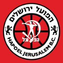 "Hapoel ""Bank Yahav"" Jerusaleam Basketball Club logo icon"