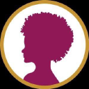 Happy Black Woman logo icon