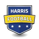 Harris Football logo icon