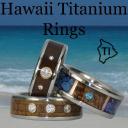 Hawaii Titanium Rings logo icon