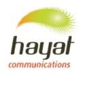 Hayat Communications logo icon