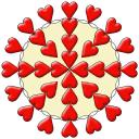 Healing Crystals logo icon