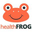 healthfrog.in logo icon