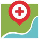 Health Map logo icon