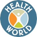 Health World Education logo icon