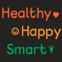 Healthy Happy Smart logo icon