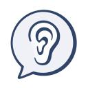 Healthy Hearing logo icon