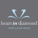 Heart In Diamond Uk logo icon