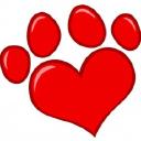 Hearts Of Pets logo icon