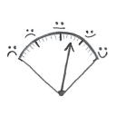 Hedonometer logo icon