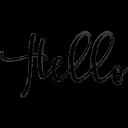 "Hello It""S Valentine logo icon"