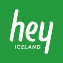 Hey Iceland logo icon