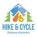 Hike & Cycle logo icon