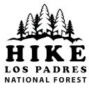 Hike Los Padres logo icon