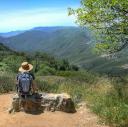 Hiking San Diego County logo icon