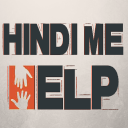 Hindi Me Help logo icon
