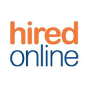 Hiredonline logo icon