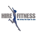 Hire Fitness logo icon