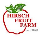 Hirsch Fruit Farm Company Logo