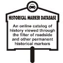 The Historical Marker Database logo icon