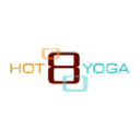 Hot8yoga logo icon