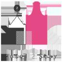 Hotel2 Stay logo icon