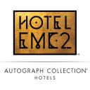 Hotel Emc2 logo icon
