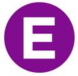 Hot Purple Energy logo icon