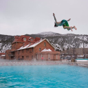 Hot Springs Pool logo icon