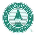 Houston Heights Association logo icon