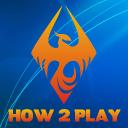 How2 Play logo icon
